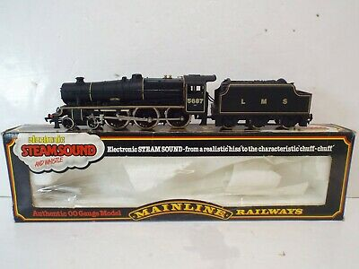 £49.99 • Buy Mainline 37095 Jubilee Class Lms 5687 Neptune With Steamsound Boxed (oo873)