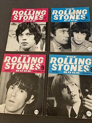 £18 • Buy The Rolling Stones Book Monthly Vol 6 7 8 9 Good Condition X 4