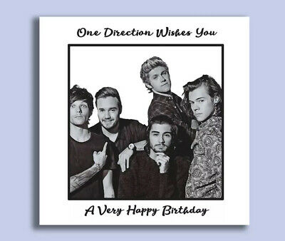 £3.95 • Buy One Direction, One Direction Birthday Card, Harry Styles, Louis Tomlinson