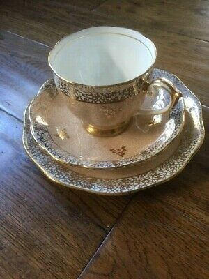 £7.99 • Buy Vintage Bell  Pottery Fine China Tea Cup Trio - Excellent Condition