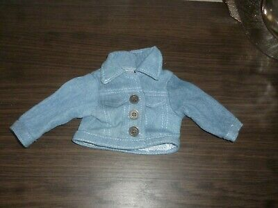 £0.99 • Buy Chad Valley DESIGN A FRIEND Doll ~ DENIM Jacket OUTFIT Suit CLOTHES