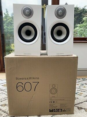 £163 • Buy B&W 607 (Bowers And Wilkins) Speakers White