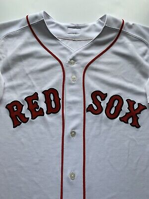 $34.95 • Buy Boston Red Sox Authentic Majestic White Jersey Size 48 100% Polyester Stitched