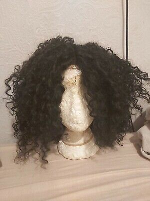 £15 • Buy Black T - Lace Synthetic Curly 10inch Lace Front Wig