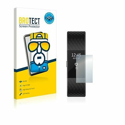 AU33.24 • Buy 2 X BROTECT® Flex 3D Curved Full Cover Screen Protector For Fitbit Charge 2