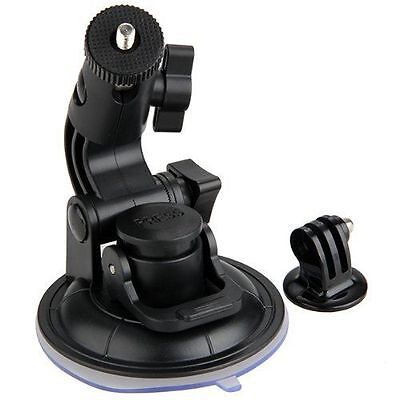 £14.32 • Buy Suction Cup Mount For GoPro Hero 1/2/3/3 + +1/4  Tripod Mount Adapter (black)