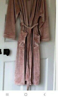 £15 • Buy Next Velour Dressing Gown Size 22 24 3/4 Length