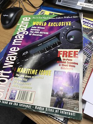 £5 • Buy 2 Issues. Short Wave Magazine. March 1996. October 2000.