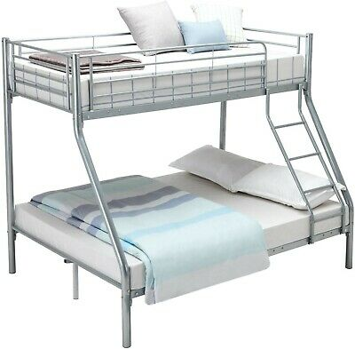 £95 • Buy Double Mattress Bunk Bed With Single Bed On Top