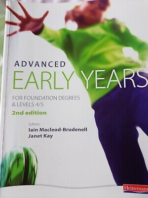 £10 • Buy Advanced Early Years For Foundation Degrees & Levels 4/5