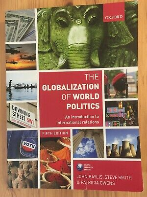 £4.99 • Buy The Globalization Of World Politics: An Introduction To International Relations…