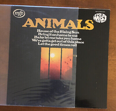 £18.11 • Buy The Animals – The Most Of Greatest Hits, House Of The Rising Sun, Vinyl LP