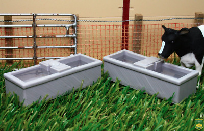 £9.99 • Buy Brushwood Toys Water Troughs Cattle Trough Diorama Bt3058 1:32 Scale