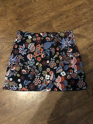 £9 • Buy River Island Floral Mini Skirt Size 12