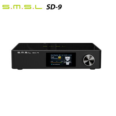 £293.18 • Buy SMSL SD-9 High Resolution Desktop Player MQA Support DSD256 With Remote Control