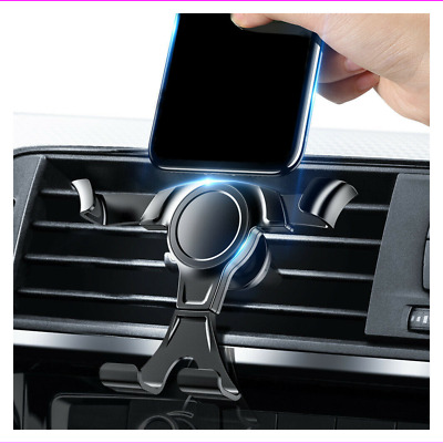 $0.99 • Buy Gravity Phone Holder Air Vent Outlet Clamp Stand Bracket Car Mount Accessories