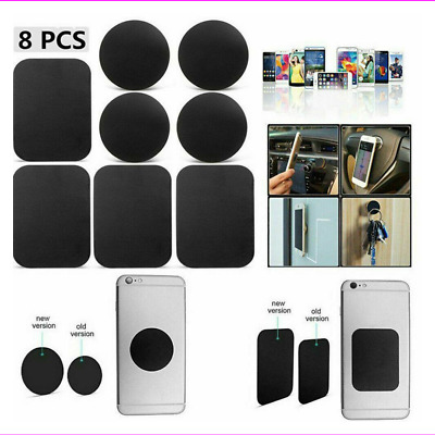 $0.99 • Buy 8X Metal Plates Sticker Replace For Magnetic Car Mount Phone Holder Accessories