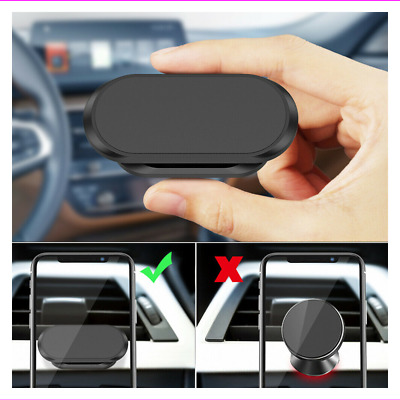 $0.99 • Buy Magnetic Phone Holder Bracket 360°Rotation Car Dashboard Mount Stand Accessorie