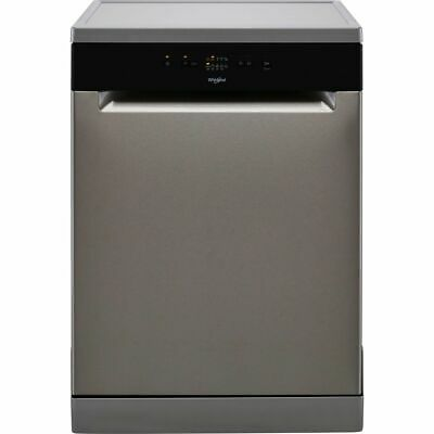 View Details Whirlpool WFE2B19XUKN F Dishwasher Full Size 60cm 13 Place Stainless Steel New • 318.00£