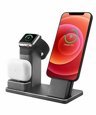 $ CDN29.98 • Buy 3 In 1 Aluminum Alloy IPhone Charging Stand For Apple Watch Series 6/5/4/3/Ai...