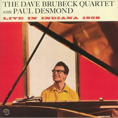 £15.74 • Buy DAVE BRUBECK QUARTET, The With PAUL DESMOND - Live In Indiana 1958 (reissue)