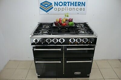 £1300 • Buy Falcon Range Cooker Dual Fuel 100cm Steam Cleaned In Good Order 286