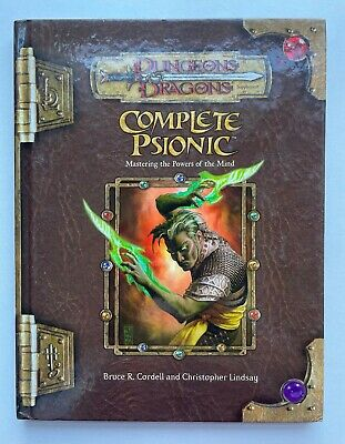 AU113.23 • Buy Complete Psionic: Mastering The Powers Of The Mind Dungeons & Dragons 3.5 WotC