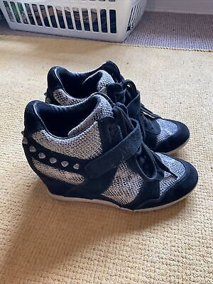 £9.99 • Buy Womens Ash Wedged Trainers Size 5
