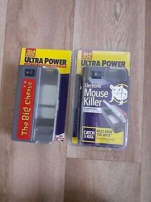 £30 • Buy 2 X Big Cheese Ultra Power Electronic Mouse Killer Quick Humane Elec Mouse Trap