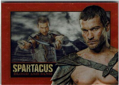£59.99 • Buy Spartacus Blood And Sand In Memoriam Shadowbox Card Andy Whitfield 1972-2011