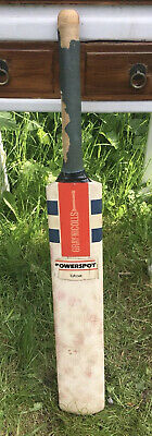 £45 • Buy Vintage Gray Nicolls Powerspot Cricket Bat Tufcoat And Protective Sleeve Cover