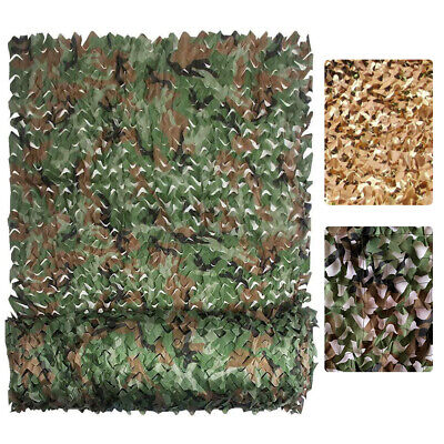 $19.99 • Buy Woodland Camouflage Netting Military Army Camo Hunting Shooting Hide Cover Net