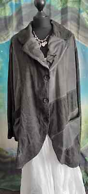 £22 • Buy Kekoo Coat Jacket 18/20 48  Chest Quirky Lagenlook Gothic Steampunk