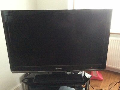 """£45 • Buy Sharp LCD Colour Television 42"""" With Genuine Remote Control"""