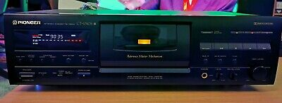 £250 • Buy Pioneer CT-S740S Dolby S, 3 Head Cassette Deck Reference Master