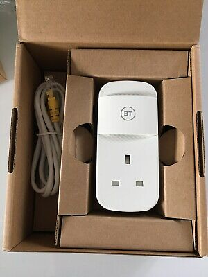 £25 • Buy BT Mini Connector V2 White Single Boxed Powerline Adapter With Cable 087373