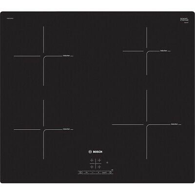 £329.99 • Buy Bosch PUE611BF1B Serie 4 Induction Hob With Front Touch Control