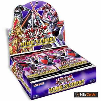 £61.95 • Buy YuGiOh King's Court Sealed Booster Box Of 24 Packs | New & Sealed TCG Cards KICO