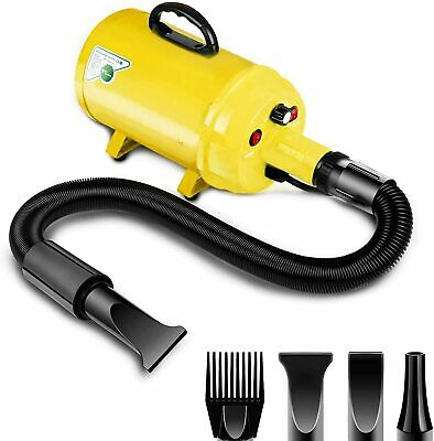 £49.99 • Buy Amzdeal Dog Dryer Pet Hair Dryer 3.8HP 2800W Stepless Speed Pro Groming 4Nozzle