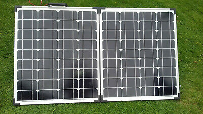 £120 • Buy Baird 100w Folding 12v Solar Panel For Camping Etc, Hardly Used, Good Condition
