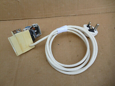£6.50 • Buy Hotpoint Indesit Washing Machine Mains Power Cable Filter Suppresser Used