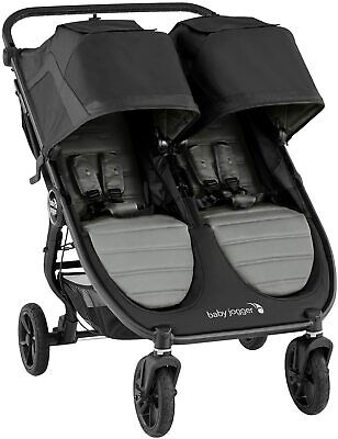 £539.95 • Buy Brand New Baby Jogger City Mini GT 2 Double Pushchair Stroller Raincover Grey