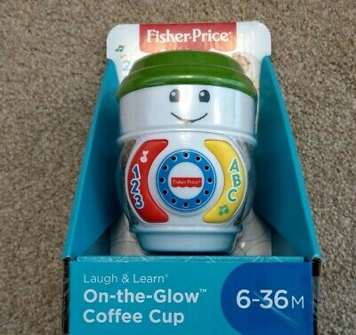 £7.99 • Buy Fisher-Price Laugh & Learn On-The-Glow Coffee Cup Interactive Toy