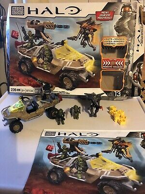 £19.99 • Buy HALO Mega Bloks 97134 - UNSC Night Ops Gausshog - With Box And Instructions