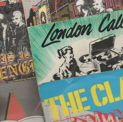 £4.99 • Buy The Clash - Record Sleeves X 5 (no Records!) 7  Punk