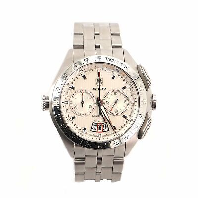 £1769.77 • Buy Tag Heuer SLR Calibre 17 Chronograph Automatic Watch Stainless Steel 47