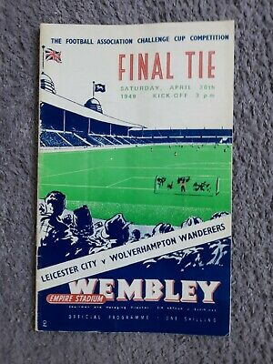£14.99 • Buy FA CUP FINAL PROGRAMME 1949 Leicester City V Wolves ( Replica)