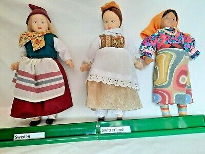 £4.95 • Buy DeAgostini Porcelain Dolls Of The World Collector's - Sweden Switzerland Unknown