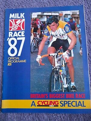 £6.99 • Buy Cycling Milk Race 1987 Programme ( Tour Of Britain )