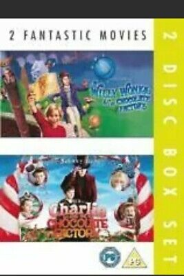 £1.20 • Buy Charlie And The Chocolate Factory/Willy Wonka And The Chocolate Factory (DVD, 2…